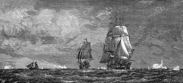 HMS Erebus und HMS Terror