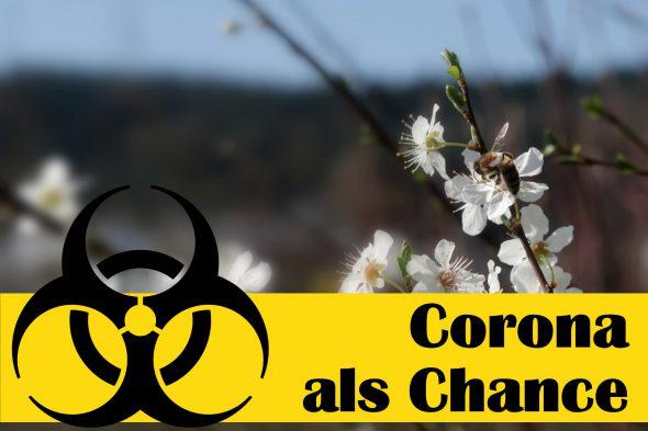 Corona ist auch eine Chance