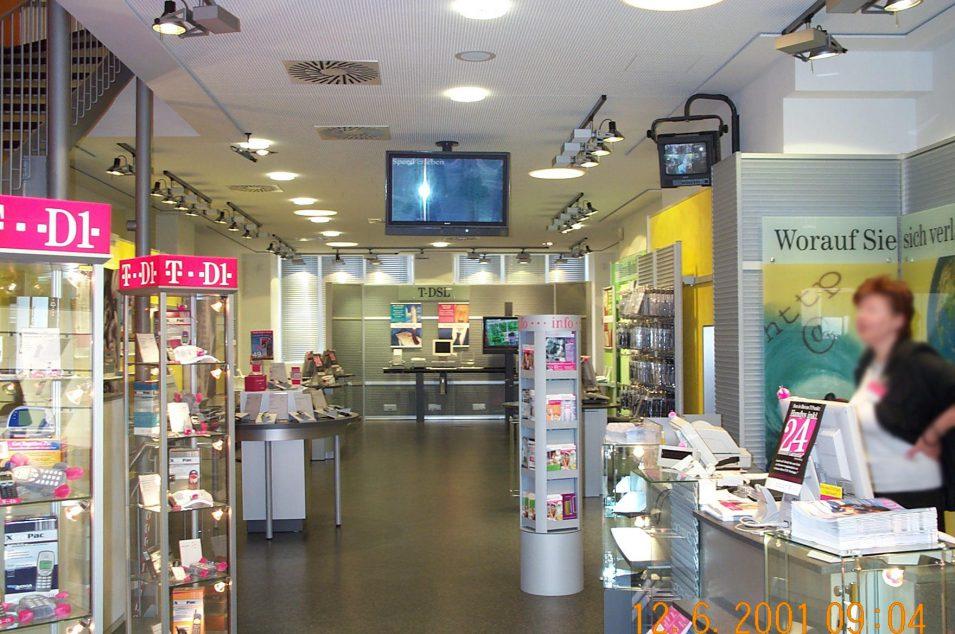 T-Punkt in der Stuttgarter Königstraße