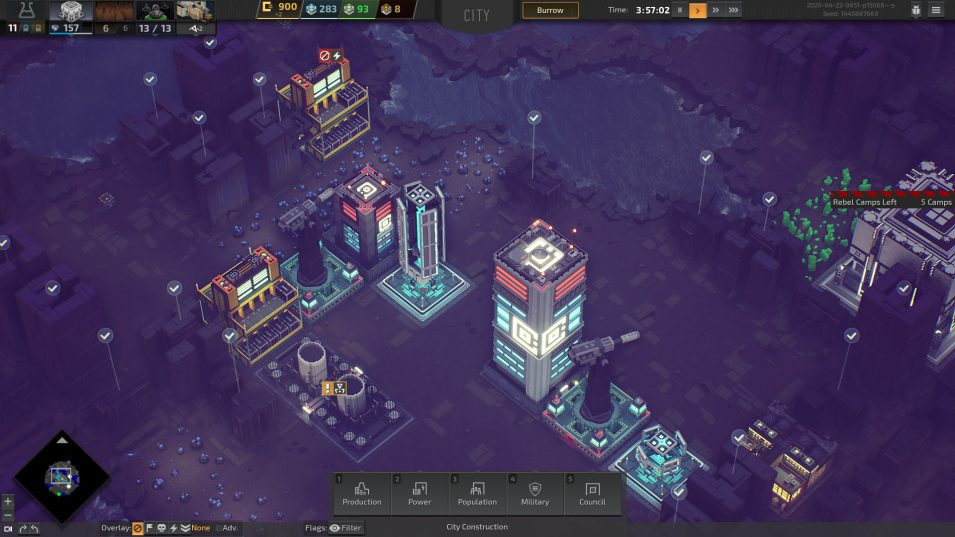 Nacht auf dem Titan - Industries of Titan (Early Access)