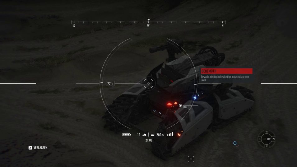Ghost Recon Breakpoint - Behemoth-Panzer
