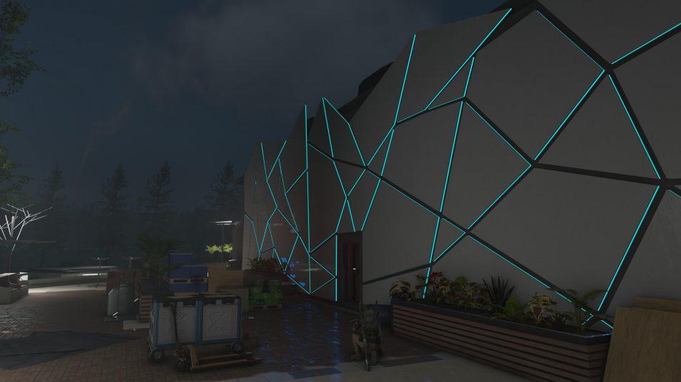 Ghost Recon Breakpoint - Futuristisches Gebäude