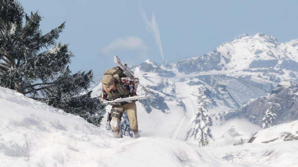 Ghost Recon Breakpoint - Nomad in den verschneiten Bergen