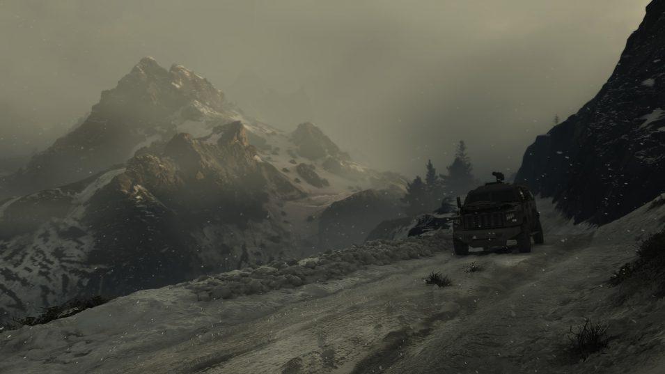 Ghost Recon Breakpoint - Verschneite Landschaft auf Auroa