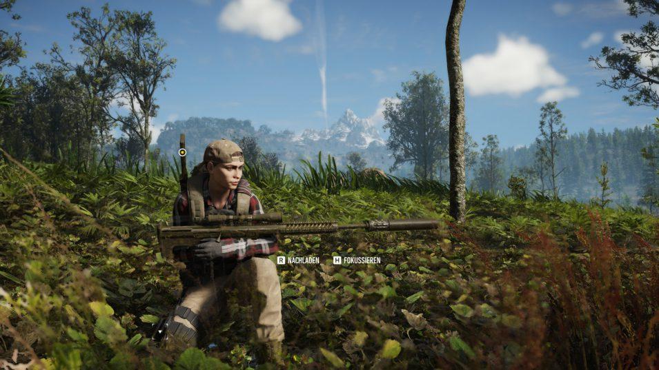 Ghost Recon Breakpoint - Nomad mit Scharfschützengewehr