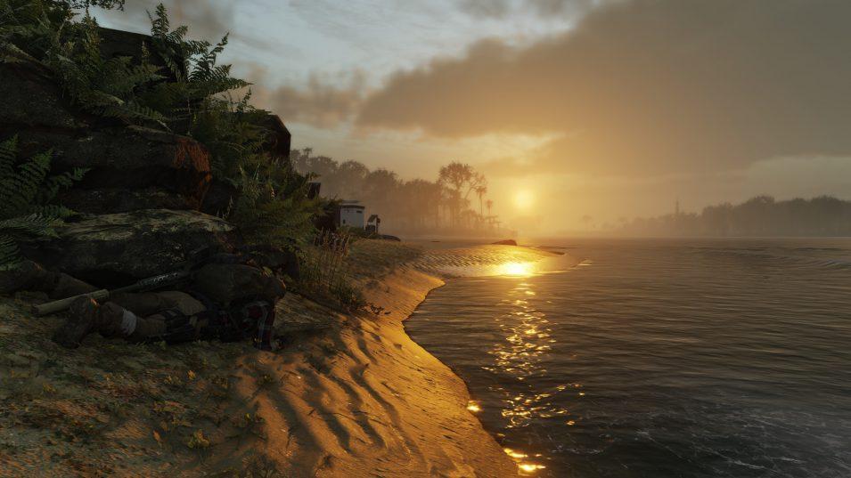 Ghost Recon Breakpoint - Sonnenuntergang am Strand von Auroa