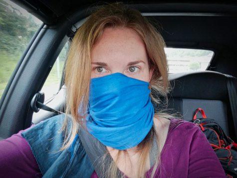 Lucyda bereit für den Überfall