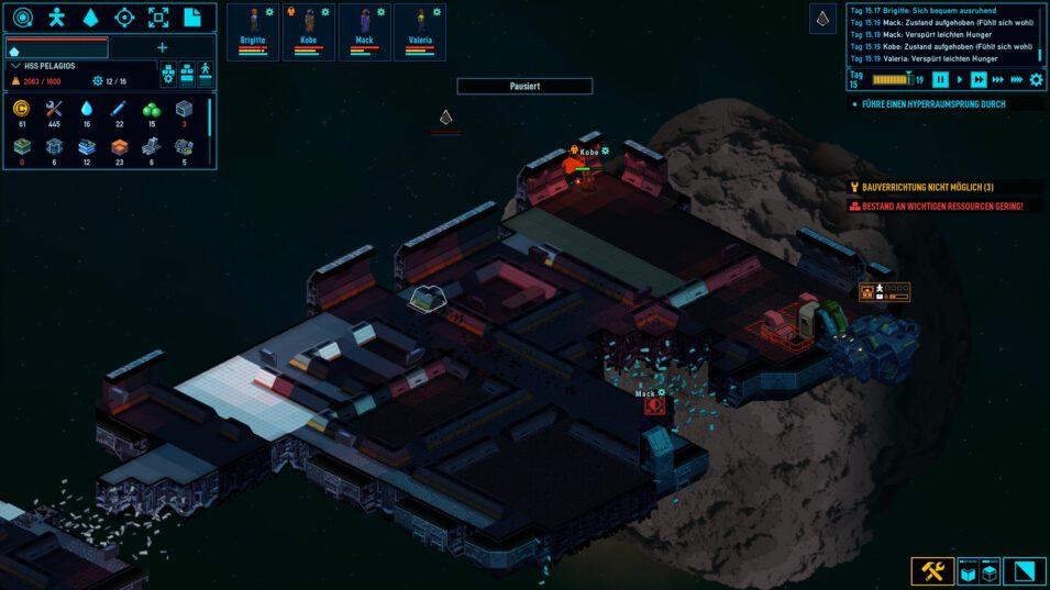 Space Haven - Schiff zerlegen