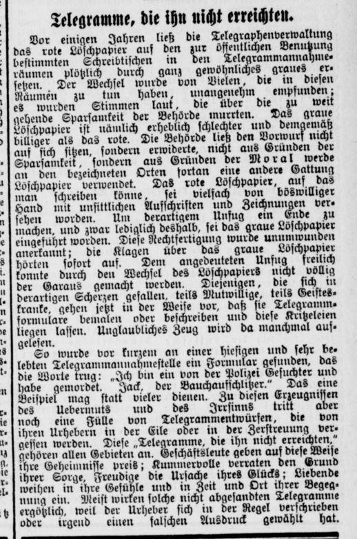Original-Zeitungsausschnitt