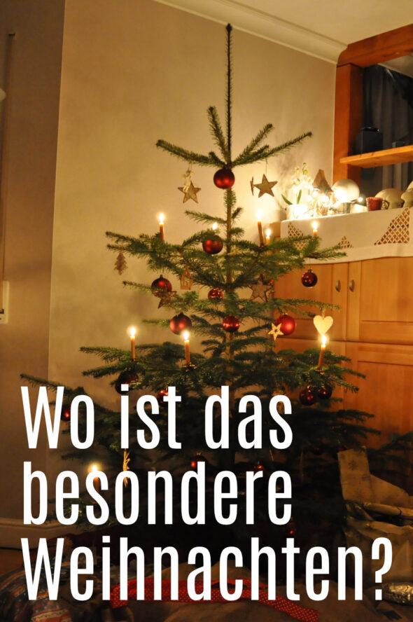 Wohin ist das kindliche Weihnachten verschwunden?