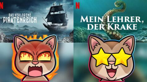 Piraten-Doku und Kraken-Doku