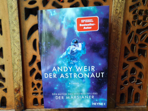Buchcover: Andy Weir - Der Astronaut