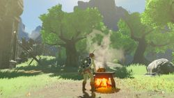 Kochen in Breath of the Wild
